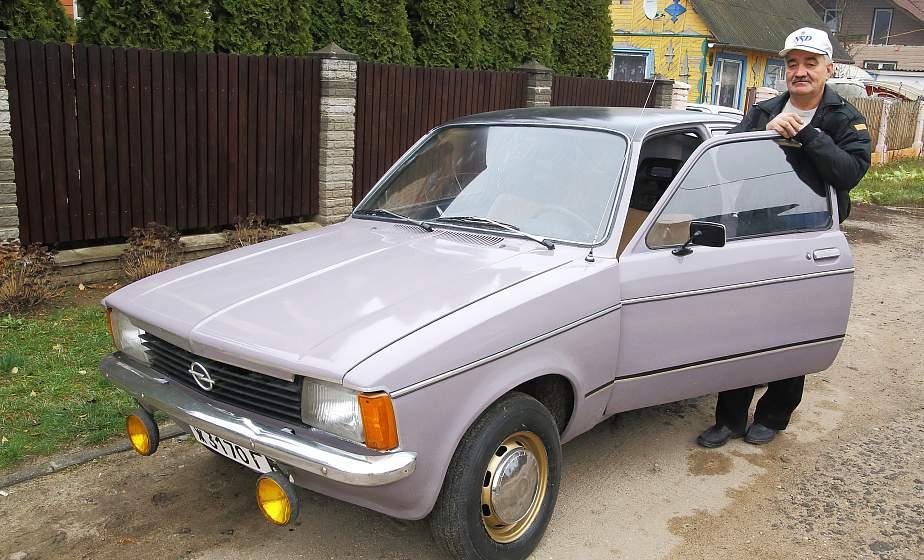 Этот «Опель» участвовал в мировых ралли. В Мостовском районе «откопали» раритетный автомобиль