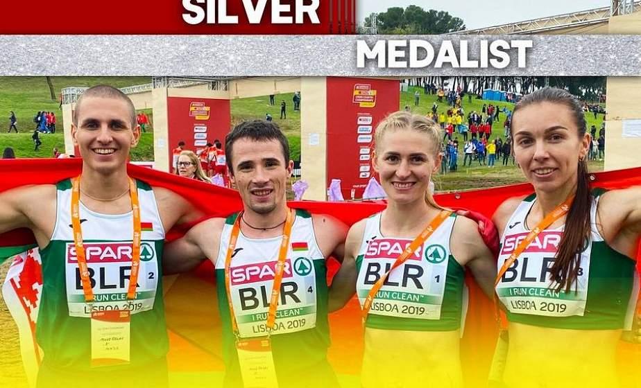 Белорусы финишировали вторыми в смешанной эстафете на чемпионате Европы по легкоатлетическому кроссу в Португалии