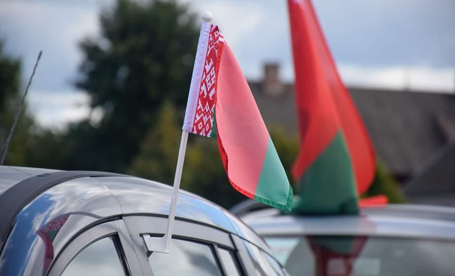 Маршрут республиканского автопробега «Символ единства» пролег сегодня через Волковыск
