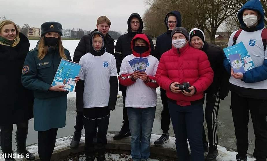 Напомнят о безопасности на воде. БРСМ и ОСВОД проводят на Гродненщине акцию «Зимний патруль»