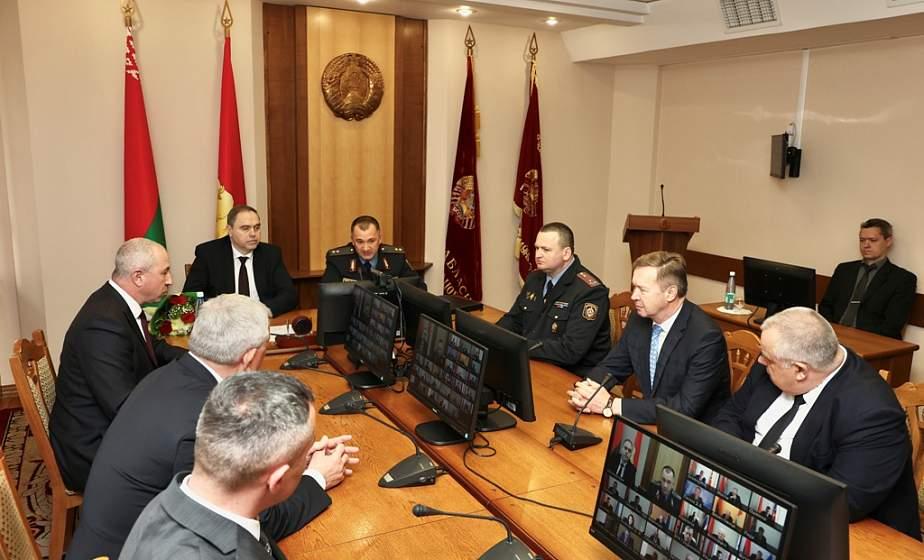 «Главная задача – работа с людьми». В Гродно представили нового начальника УВД облисполкома