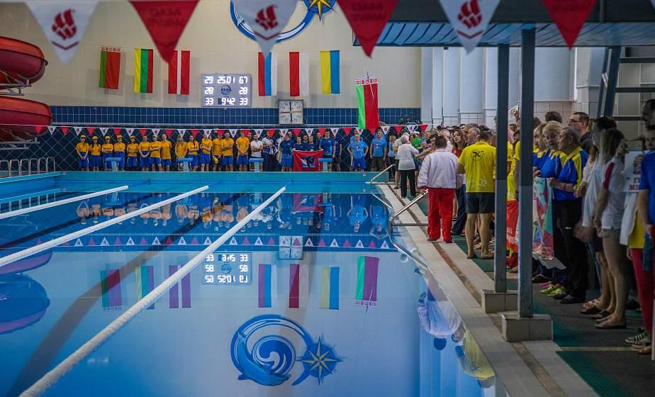 Х Открытое первенство по плаванию в категории «Мастерс» стартовало в Гродно (+видео)