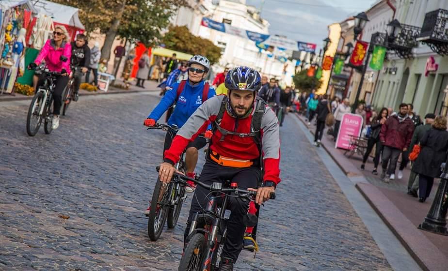 Городской велопробег «Hrodna Rovar Fest» в День без автомобиля