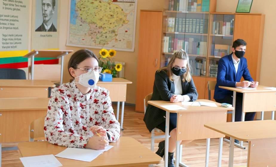 Диктант, изложение и математика на литовском языке. Как сдают экзамены выпускники Рымдюнской школы