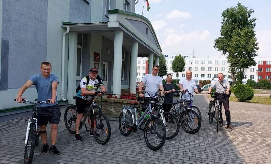 По живописным берегам Немана и улицам Березовки проляжет веломаршрут для туристов (+видео)