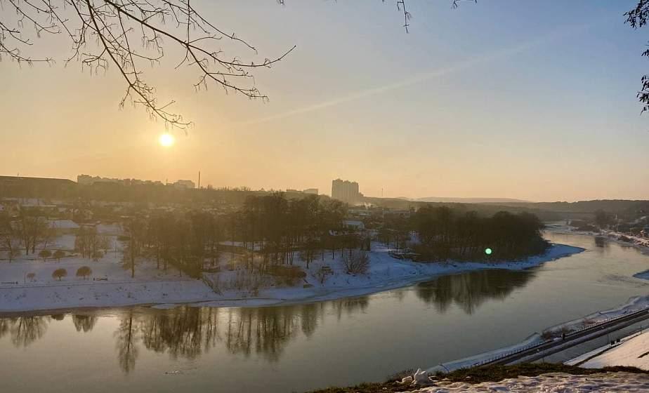 Последние дни зимы. Солнечный фоторепортаж из Гродно