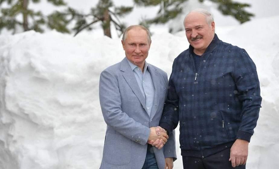 Встреча Александра Лукашенко и Владимира Путина проходит в Сочи