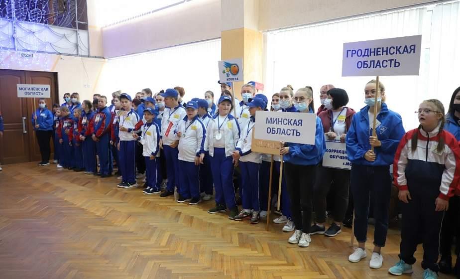 Особенный старт. В Гродно открылось XIV республиканское комплексное спортивно-массовое мероприятие «Усе разам» для детей с особенностями развития