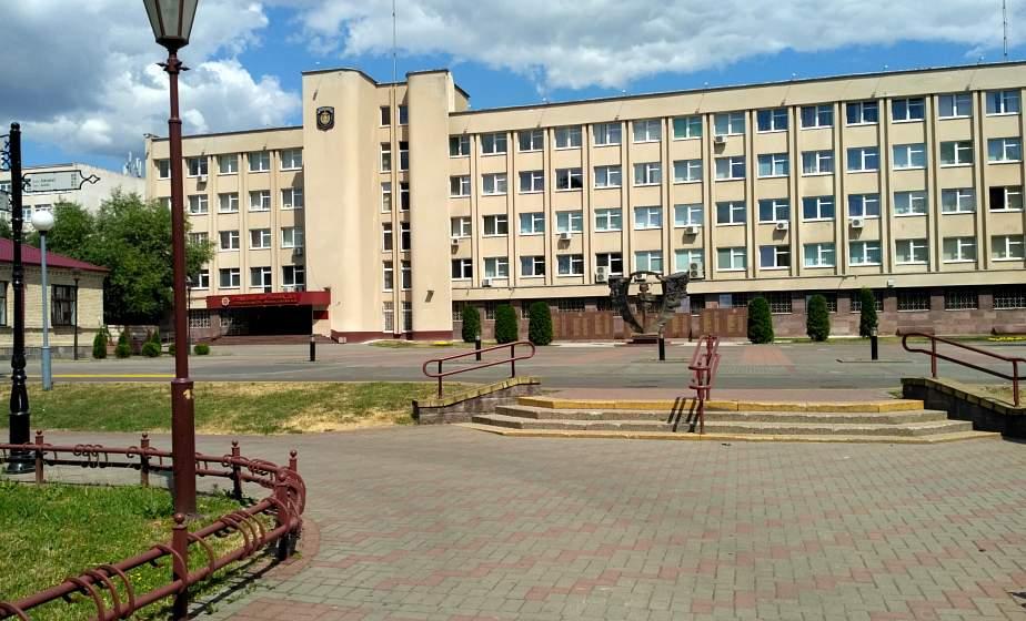 УВД облисполкома: в ИВС территориальных ОВД области не содержится  белорусских граждан, задержанных на акциях