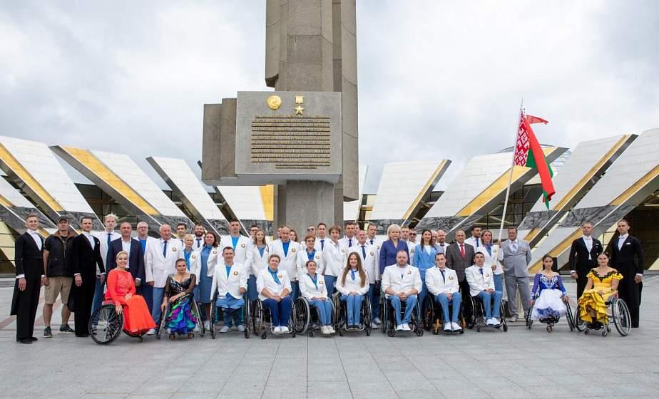 20 белорусских спортсменов выступят на Паралимпийских играх в Токио