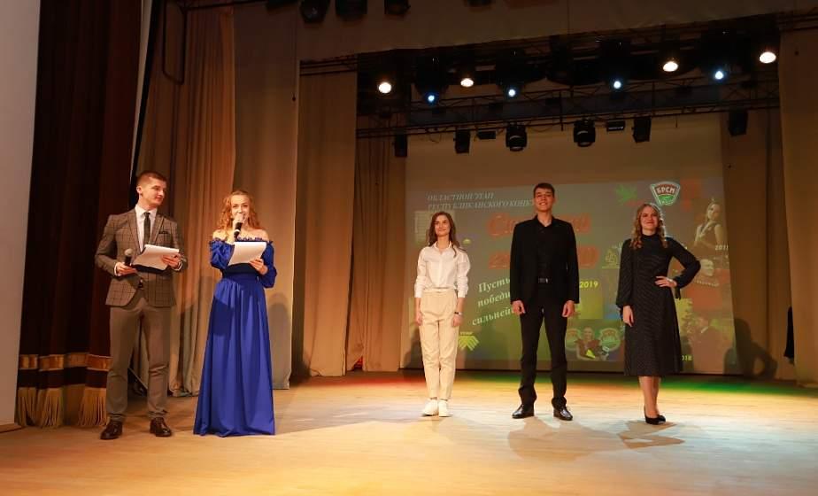 Студентка медуниверситета Анастасия Хлюпина представит Гродненскую область на республиканском конкурсе «Студент года» в Минске