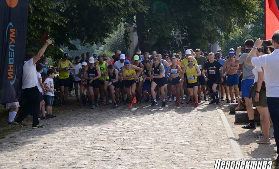 Фотофакт: на Августовском канале прошли соревнования по трейловому бегу