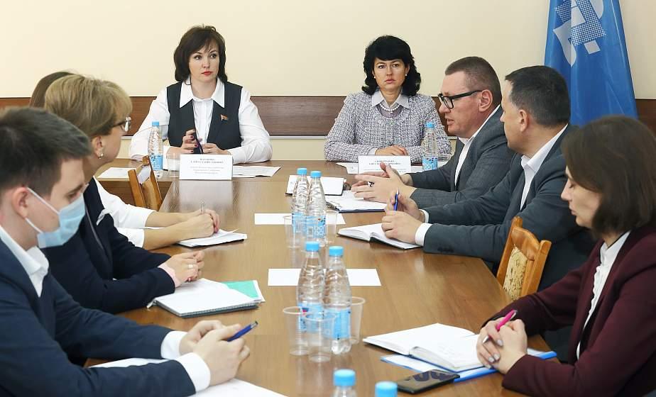 Круглый стол в областном объединении профсоюзов был посвящен актуальным вопросам ценообразования в Республике Беларусь