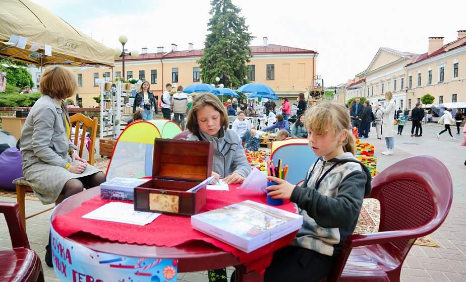 Читающий Гродно. В областном центре прошел V книжный фестиваль «Гарадзенскі літфэст» (+видео)