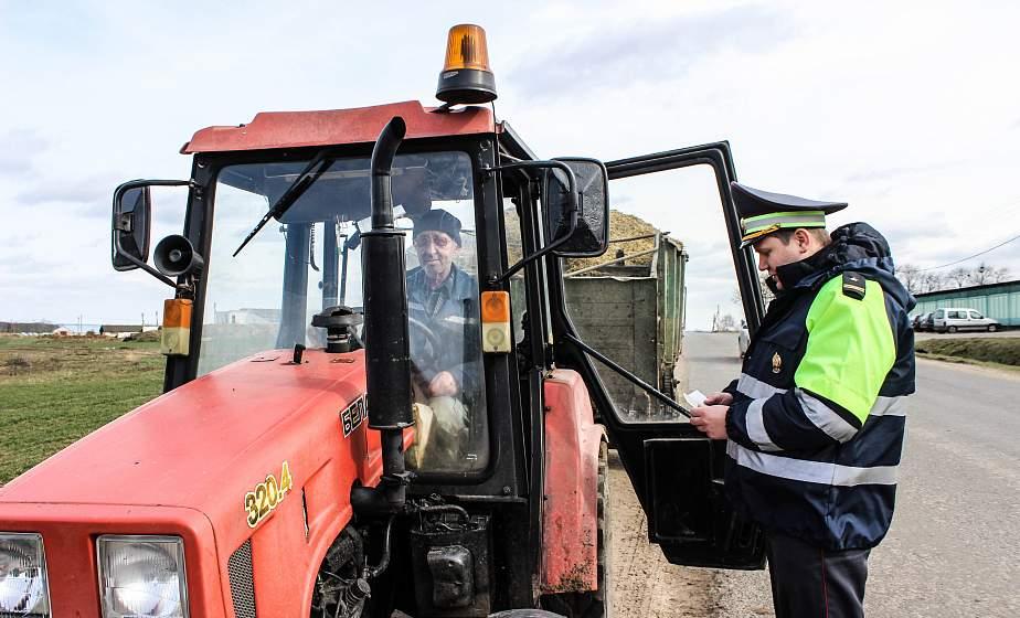«Внимание! Самоходная и тракторная техника!» Декаду под таким названием с 23 апреля по 3 мая проводит Госавтоинспекция Гродненской области