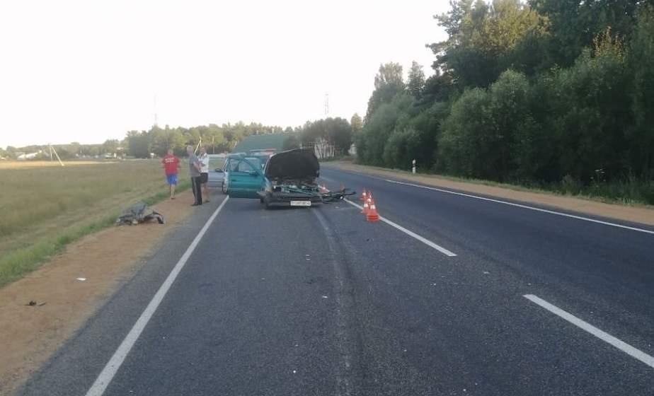 Происшествия на дорогах в Лидском районе: лобовое столкновение иномарок и наезд на пешехода