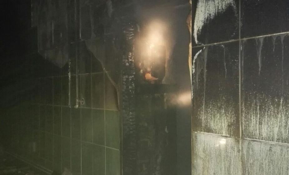 Под Вороново спасатели ликвидировали пожар в бане