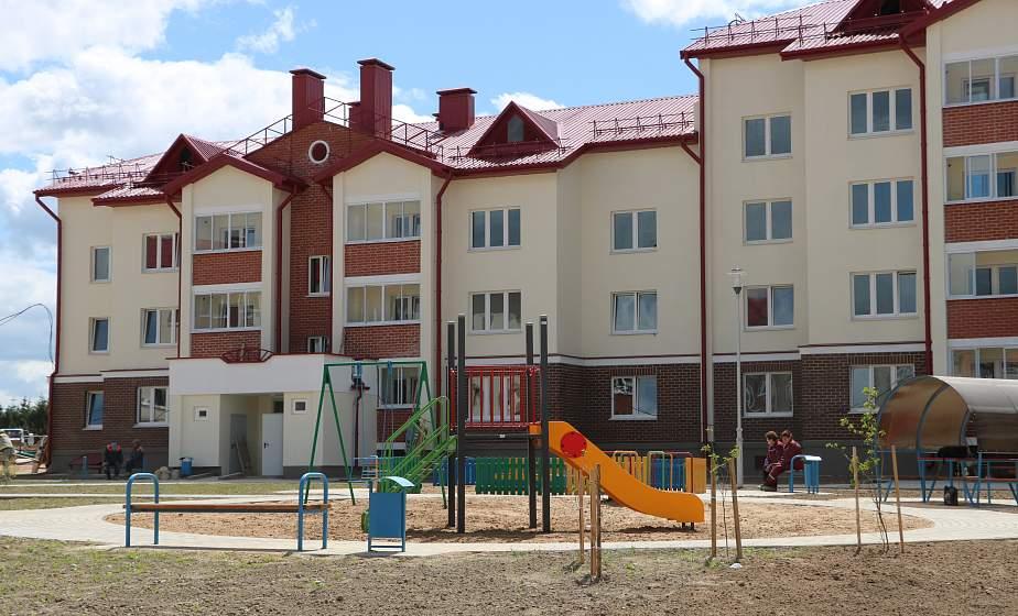 В Островце сдали арендный дом для работников соцсферы. Где еще в этом году построят новые квадраты?