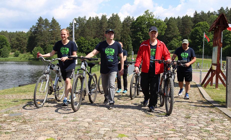 50 километров по «Август Вело»: велосипедный маршрут от Гродно до польской границы торжественно открыт