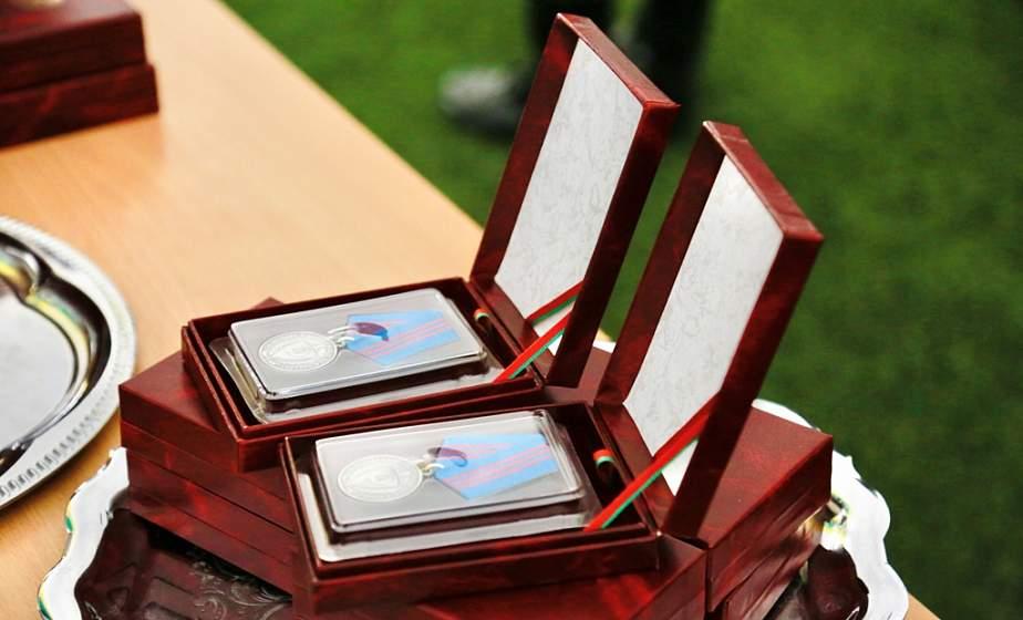 На страже правопорядка. Сотрудникам органов внутренних дел Гродненской и Брестской областей вручили государственные награды