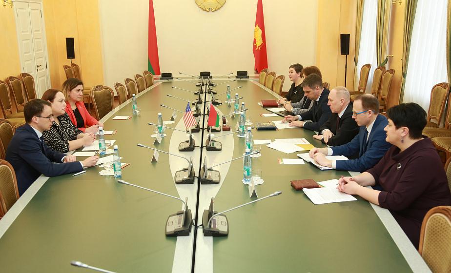 Новые точки сотрудничества Гродненского региона и США