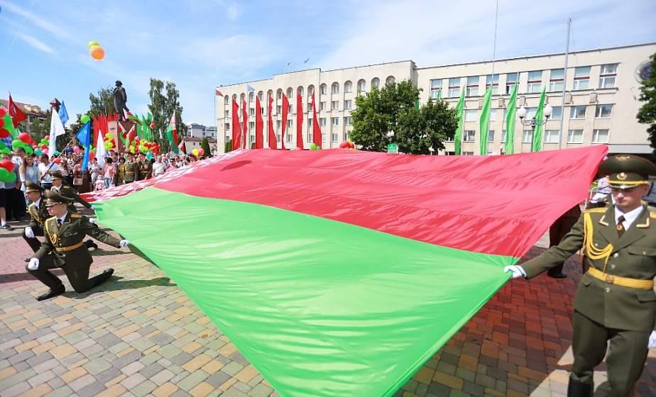 «Мы должны сберечь нашу страну». В Гродно состоялось торжественное открытие праздника в честь Дня Независимости
