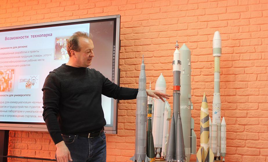 Первый в Беларуси макет ракеты на 3D-принтере изготовили в Гродно