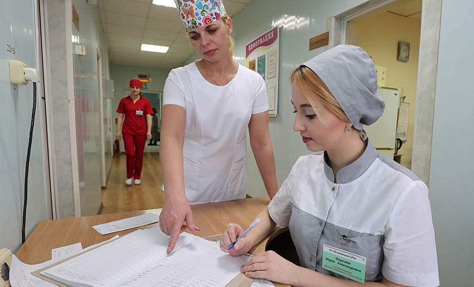 Вместо старой больницы в Островце появилась современная межрайонная и межрегиональная клиника