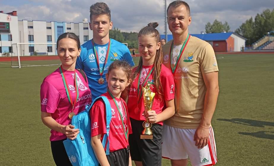 В Лиде провели семейный футбольный фестиваль. Первое место заняли гости из Сморгони
