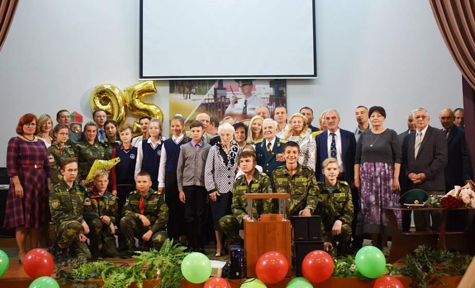 Пример мужества и стойкости. Ветеран войны Григорий Обелевский отметил свое 95-летие