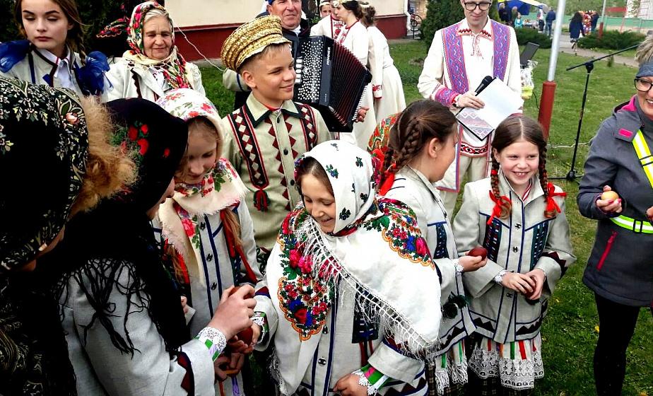 Праздник писанки отметили в Гродненском районе
