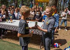 Эта встреча вдохновит многих. В Гродно бронзовый призер II Европейских игр Анастасия Алистратова встретилась с детьми в оздоровительном лагере