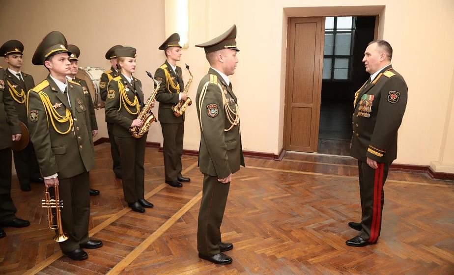 Министр обороны Беларуси посетил Западное оперативное командование