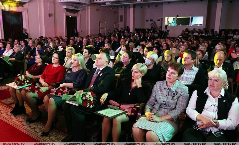 Педагоги Гродненщины удостоены благодарности Президента Республики Беларусь