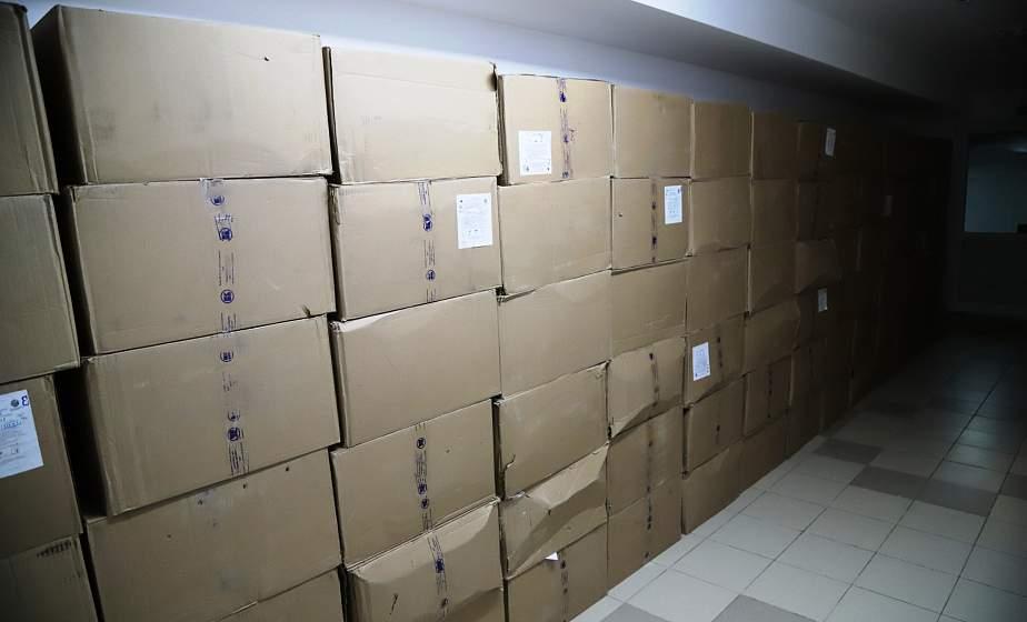 Концерн «Росатом» передал в учреждения здравоохранения Гродненщины 50 000 масок