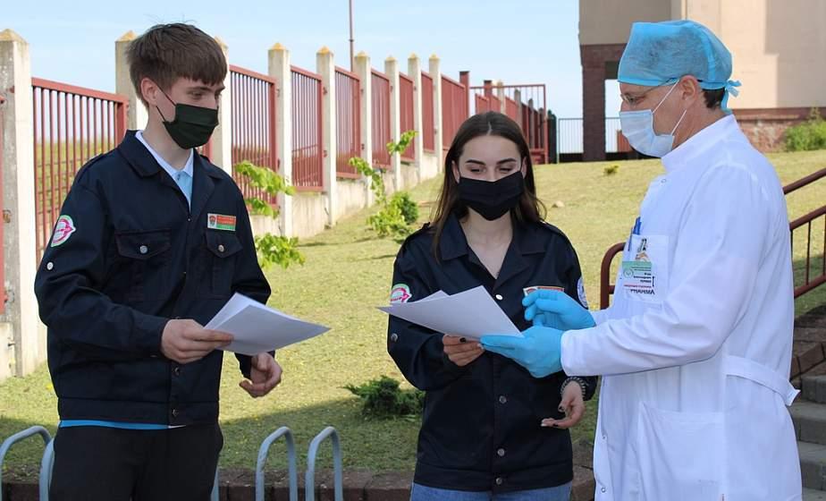 «Мы хотим отблагодарить врачей». Акция «Студотряды медикам» стартовала в Гродно