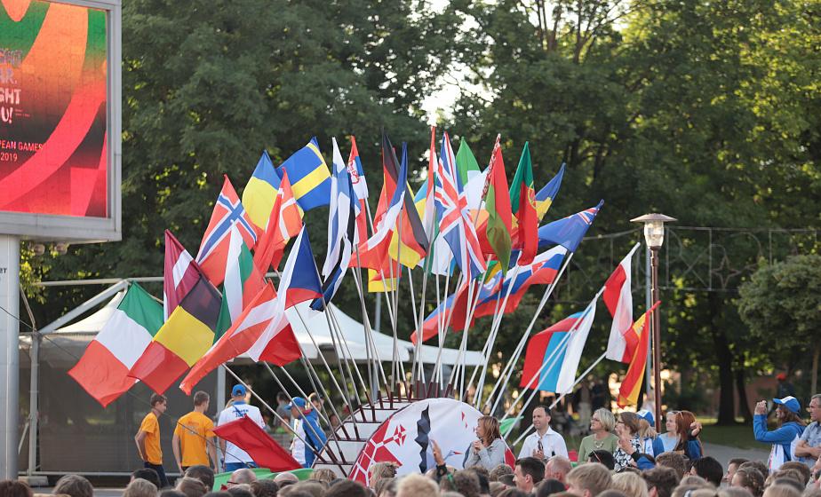 На первом месте Венгрия и Чехия. В Гродно наградили призеров первого этапа чемпионата Европы по спортивному ориентированию среди юношей