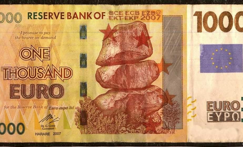 Следователи нашли фальшивомонетчика, который из купюры Зимбабве «сделал» 1000 евро