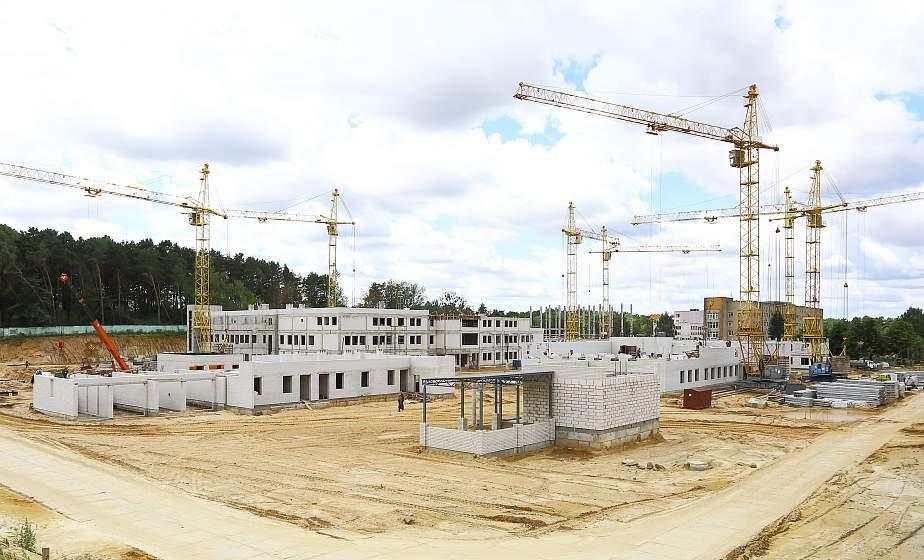 Ведутся работы на строительстве областного онкодиспансера в Гродно