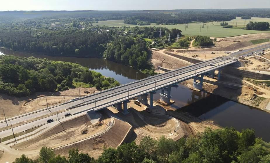 Реконструкция железнодорожного моста в Гродно на завершающей стадии