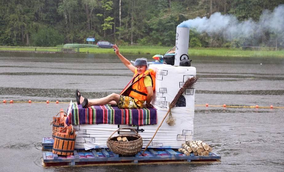 «Праздник моря» на Августовском канале: на чем поплывут и кто будет играть в болотный футбол? Большой анонс главного события лета