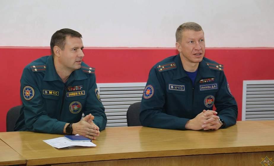 Подполковник внутренней службы Вадим Зайцев назначен начальником Гродненского городского отдела МЧС