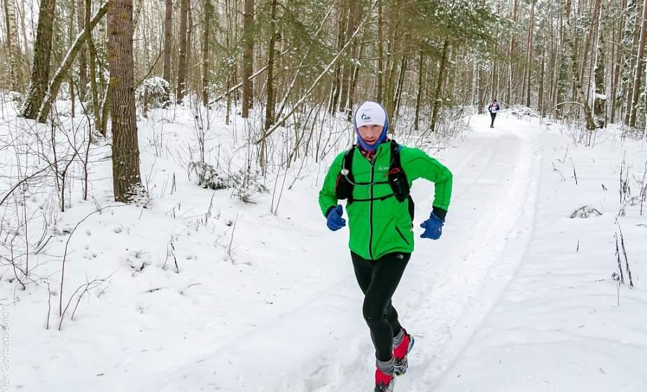 Иван Леонов из Житомли стал лучшим среди мужчин на соревнованиях «Зима партизанская»