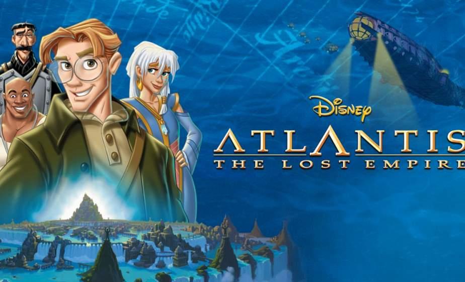 Disney выпустит ремейк мультфильма «Атлантида: Затерянный мир»