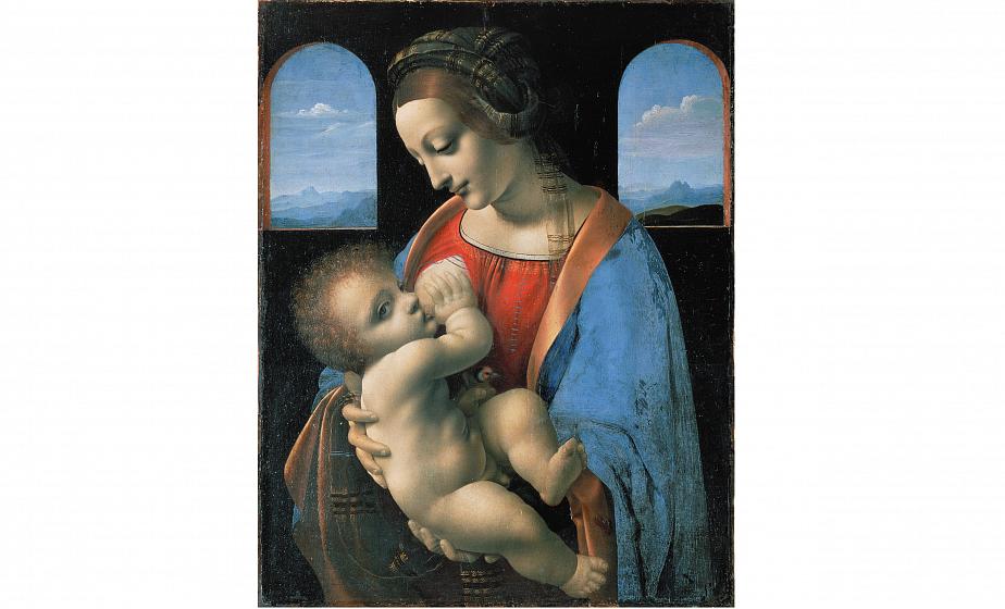 Цифровая копия на картину Да Винчи из коллекции Эрмитажа продана за $150,5 тысячи