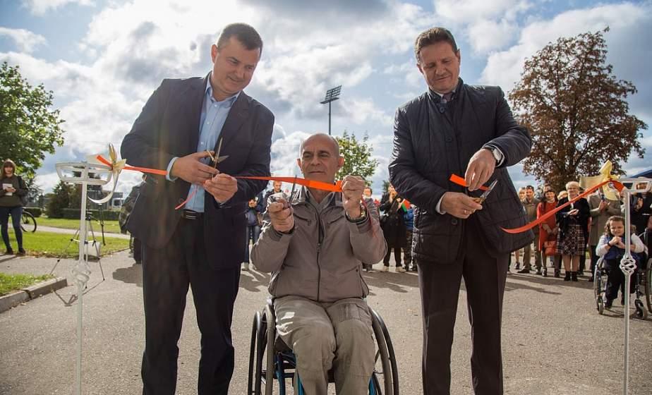 Инклюзивный спортивный центр открылся в Гродно