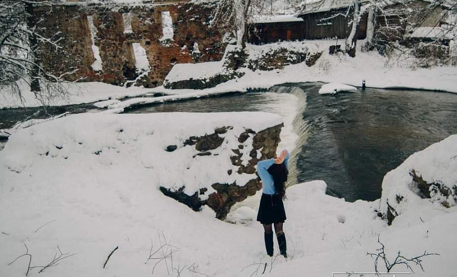 Водопад и лебеди: лучшие места для зимней фотосессии в Гродно