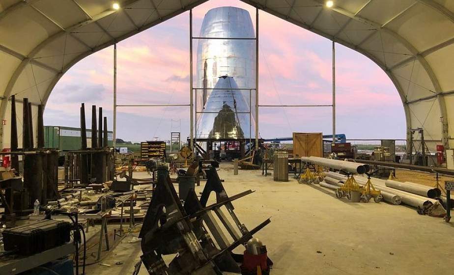 SpaceX готовит новый прототип «Звездолета» для первых орбитальных полетов