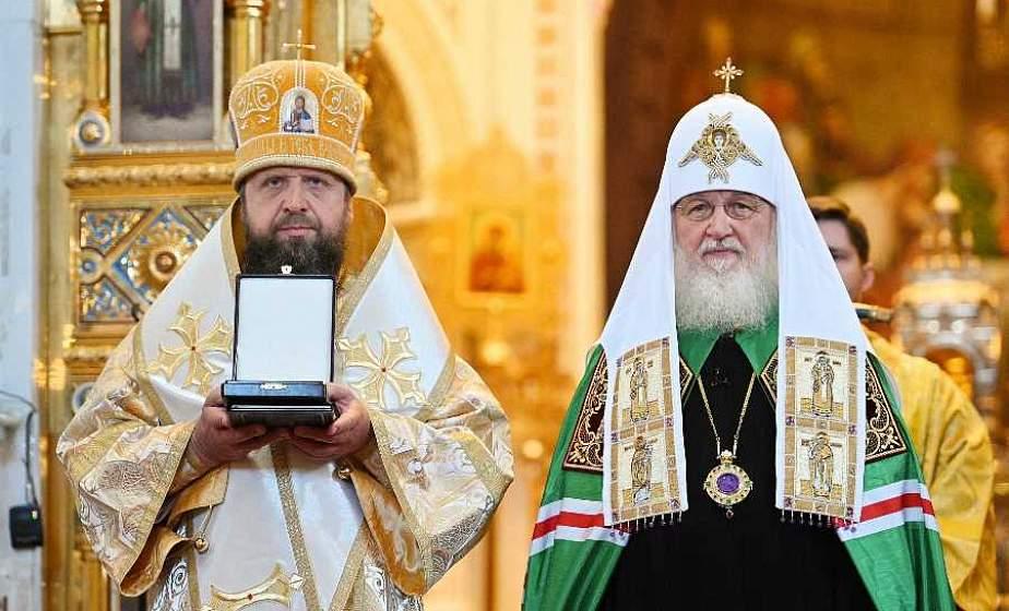 За усердное архипастырское служение. Епископ Лидский и Сморгонский Порфирий награжден орденом Серафима Саровского ІІІ степени