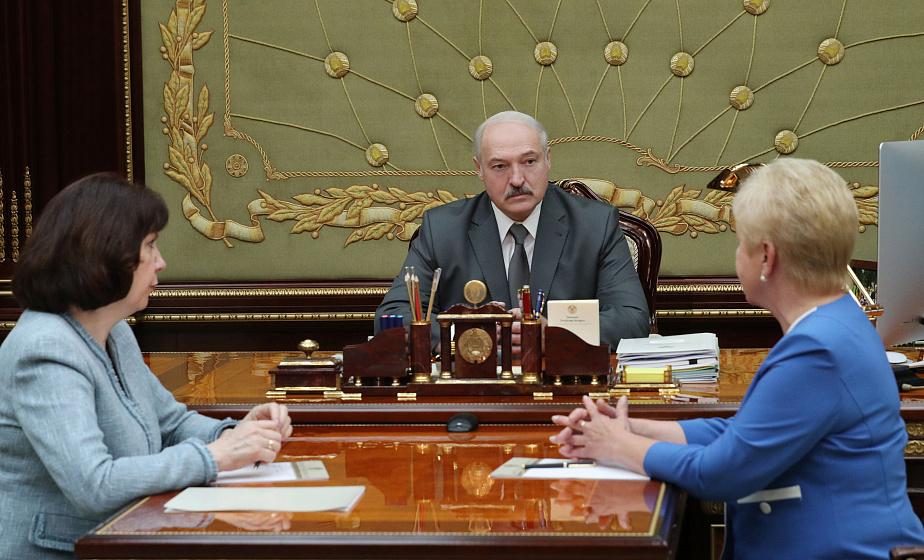 """""""Все будет по закону и Конституции"""" - Александр Лукашенко обсудил с Лидией Ермошиной организацию парламентских выборов"""